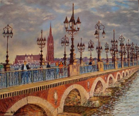 Jacques Hebert - Le Pont de Pierre