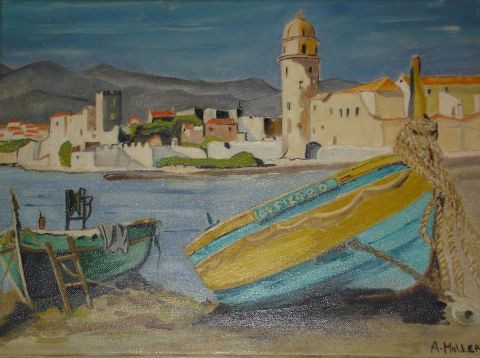 L'artiste angy - Collioure
