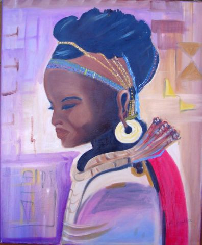 L'artiste angy - Africaine