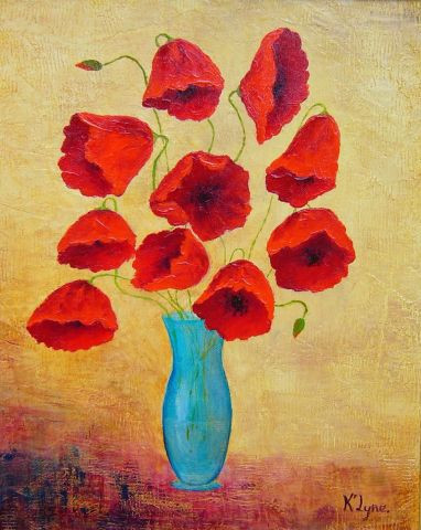 K'Lyne - COQUELICOTS MODERNE