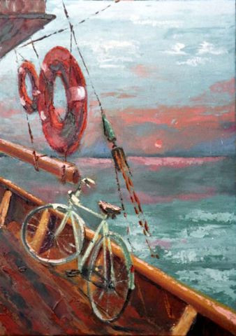 Voyage peinture attilioradice for Peinture conceptuelle