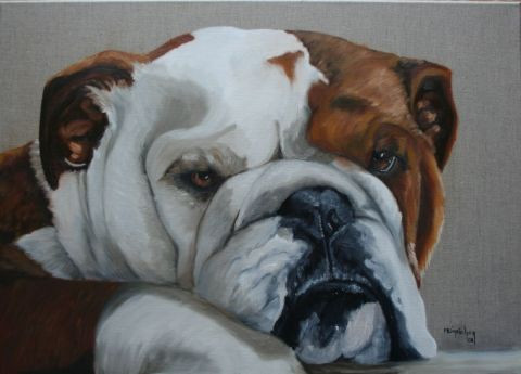 Marie-Christine Meicher - Under Chienne bulldog