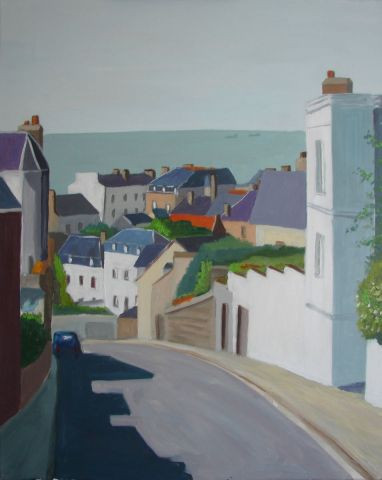patrick briere - rue gustave Langlois au Havre