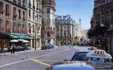 Gilles-Paul ESNAULT - Taxis, Paris 16
