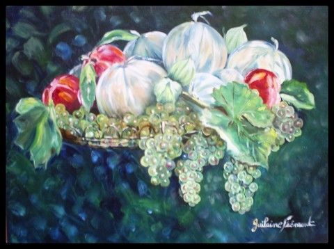 GUILAINE FREMONT - CORBEILLE DE FRUITS