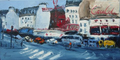 Dominique Kleiner - Moulin rouge