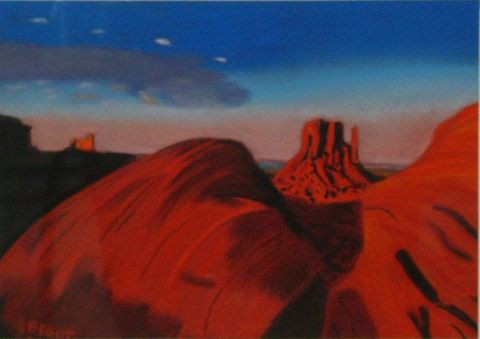 Catherine BEGOT - Monument Valley