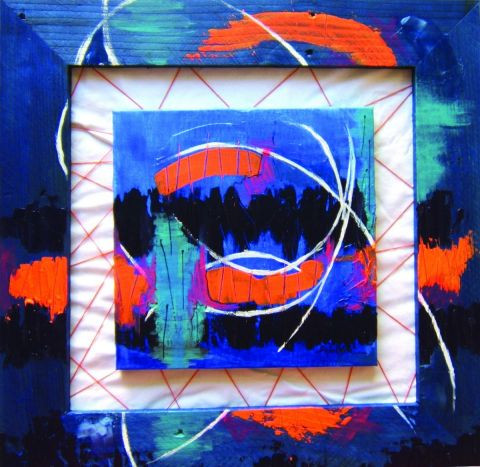 sandrine delouye - mini abstract five