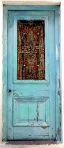 La porte bleue photo didier lorentz - La porte bleue en belgique ...