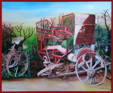 andre chavanne - objets agricoles
