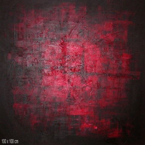 dan - rouge abstrait