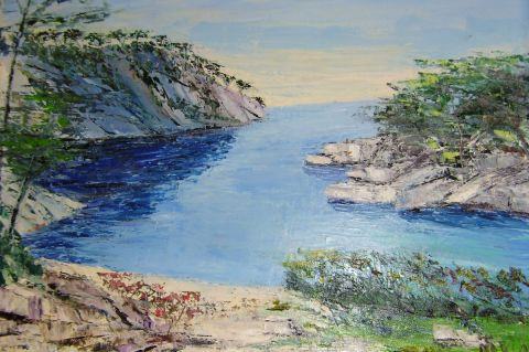MARIE-THERESE VION - Calanque de Port Pin