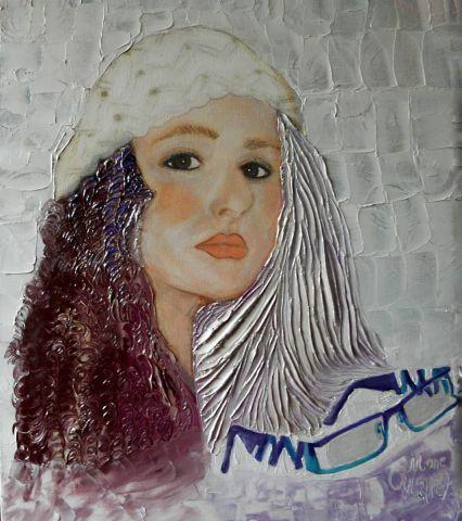 Portrait pastel sec et peinture huile vanille peinture monemaier - Peinture au pastel sec ...