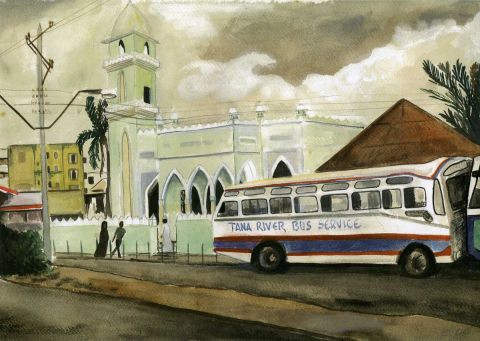 cathy - mombasa bus station