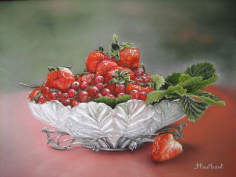 Jacqueline HAUTBOUT - Cristal et fruits rouges