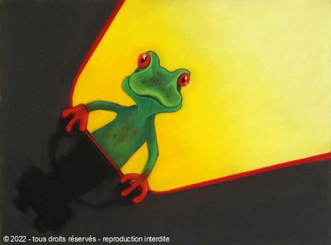 BETTY-M peintre - Grenouille