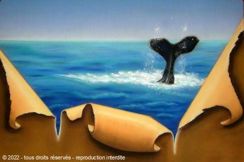 BETTY-M peintre - Le plongeon