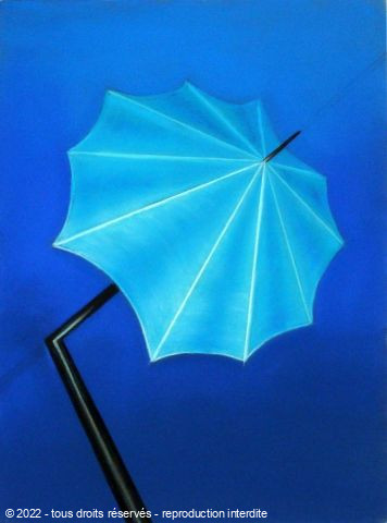 L'artiste BETTY-M peintre - Parapluie