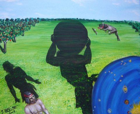 Hercule et les pommes d 39 or des hesp rides peinture laffitte jacky - Le jardin des hesperides ...
