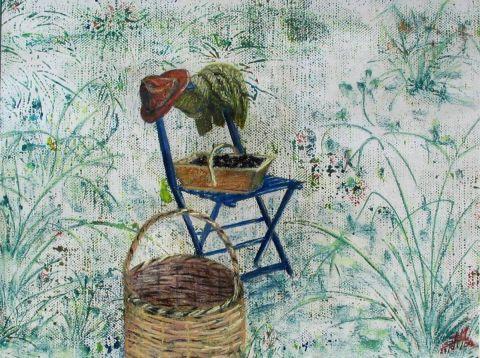 Au coeur du jardin peinture ghighi for Au coeur du jardin lille
