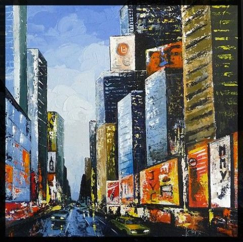 Laurence Clerembaux - soir a new york