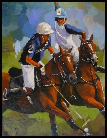 Laurence Clerembaux - polo a deauville