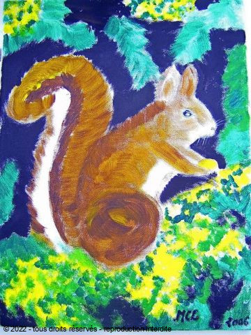 LODYA - ECUREUIL - THE SQUIRREL