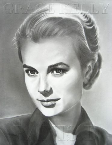 L'artiste david - GRACE KELLY