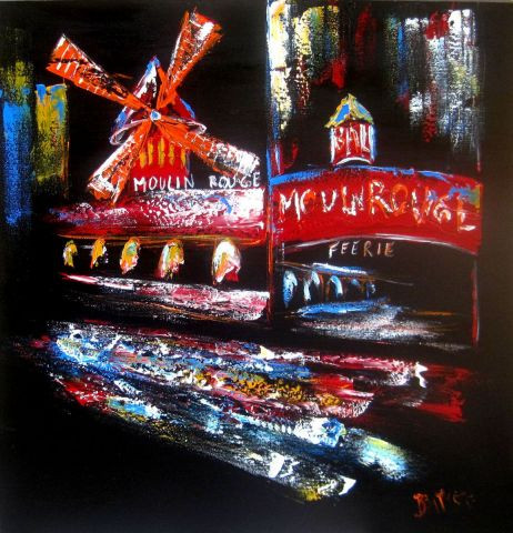 BAPTYSTE - MOULIN ROUGE