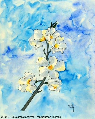 BETTY-M peintre - fleurettes