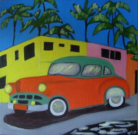 Ambiance cubaine peinture daj - Peinture ressource vente en ligne ...