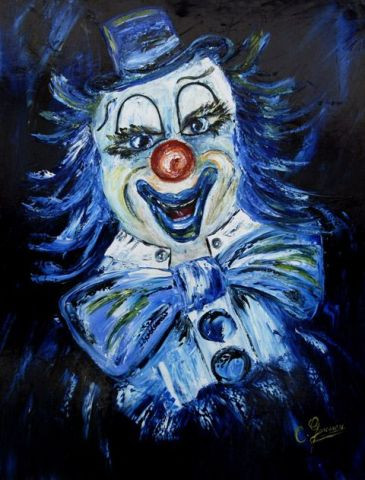 Catherine GARCERAN - Le clown