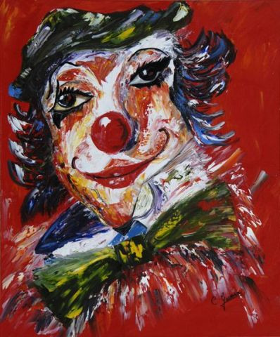 Catherine GARCERAN - Clown songeur