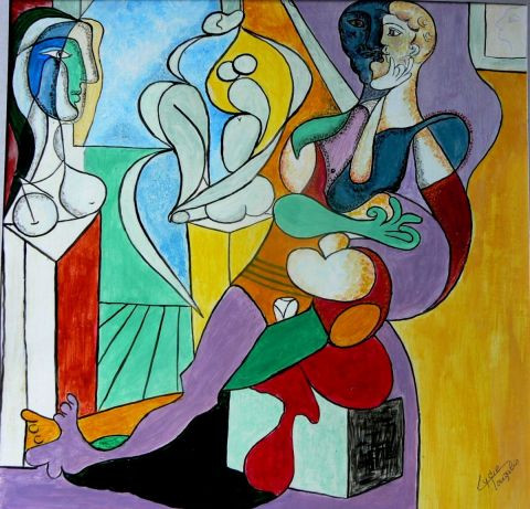 Lyzy - Reproduction Pablo Picasso