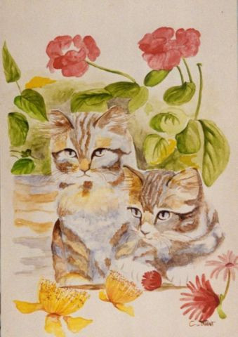 Claudine Friant - Chatons