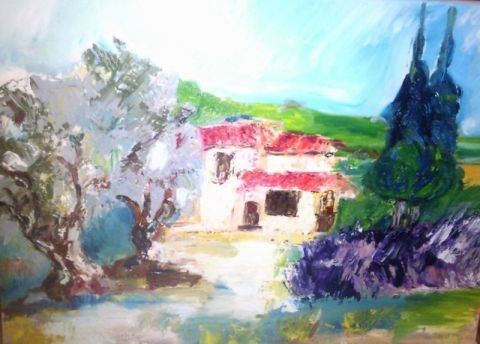anne marie magliano - paysage de provence